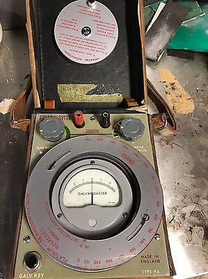 Galvanometer In Leather Case