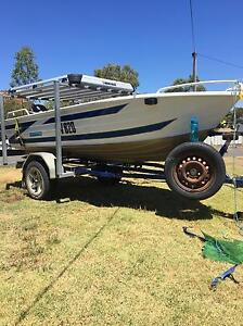 Quintrex 3.9 fishing boat Lake Boga Swan Hill Area Preview