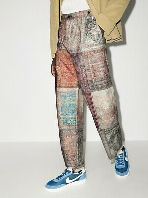 BNWT AW20 CHILDREN OF THE DISCORDANCE DATA PRINT PANTS 1
