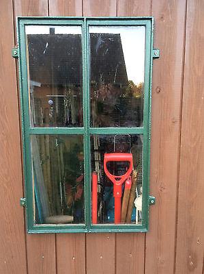 Scheunenfenster, Gussfenster, Stallfenster, Eisenfenster, 4 Felder