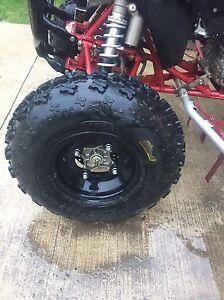 2007 TRX 450r trade for toolbox with tools London Ontario image 2