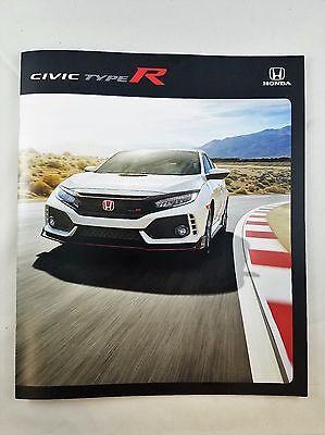 Rare US 2017 Honda CIVIC TYPE R Sales Brochure *Free Shipping*