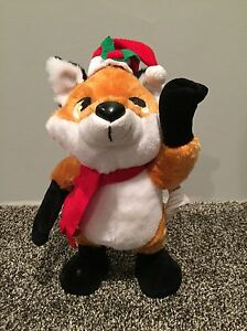 Fox Singing Animated Toy
