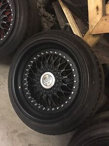Gangster BBS RS wheels, 3 piece