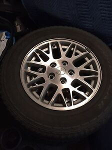 Set of Rims & Tires for Jeep Grand Cherokee
