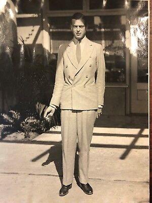 1928 Price George Of England Santa Barbara Original Press Photo