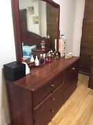 Bed base, two side drawers and dressing set with huge mirror Craigieburn Hume Area Preview