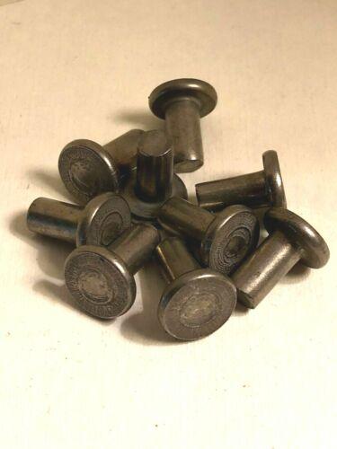 "Tinners Flat Head Stainless Steel Rivets .175 Diameter .257"" Max .18 hole (150)"