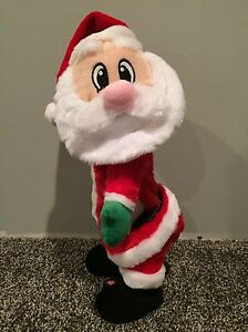 Santa Singing Animated Toy