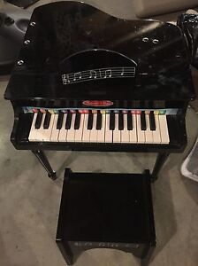 Melissa and Doug - Kids Baby Grand Piano with Bench