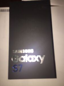 Brand new sealed Samsung s7 black onyx 32g