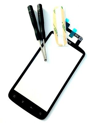 Used, HTC G14 Sensation Z710E XE Front Touch Screen Digitizer Glass Lens Black for sale  Shipping to Nigeria
