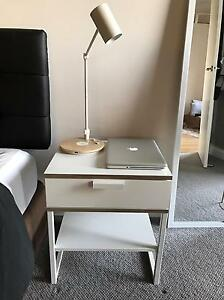 Trysil Ikea Bedside Table White Waterloo Inner Sydney Preview