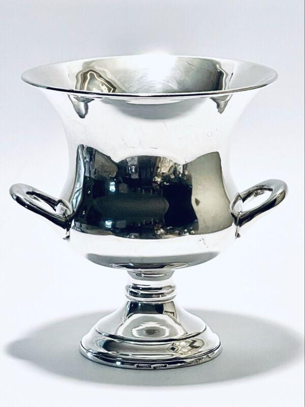 Marvelous Vintage Small Georgian Style Leonard Silver Plate Champagne Bucket