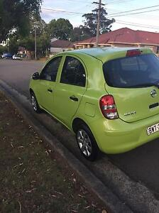 Selling Nissan micra  2011 Lidcombe Auburn Area Preview