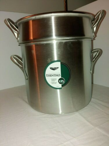 Vollrath 77130 20 Qt. Stainless Steel Double Boiler Set  3pc Set