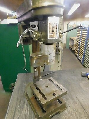 5 Speed Bench Top Drill Press With 2-12 Vise