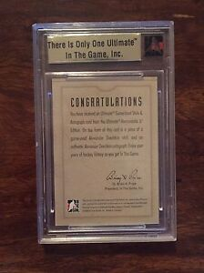 Sidney Crosby Rare Rookie Collectible Hockey Card  Cambridge Kitchener Area image 2