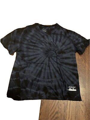 satisfy cloud merino t shirt black and blue size 2
