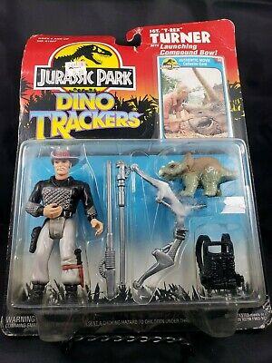 Jurassic Park Dino Trackers - Sgt T-rex Turner - Vintage Kenner