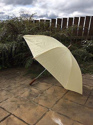 Cream Lightweight Wedding Races Formal Umbrella/ Parasol/ Brolly
