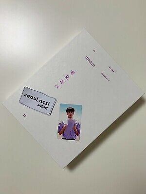 BTS Memories of 2017 Book + DVD Full Set with SEOKJIN Photocard Official Rare