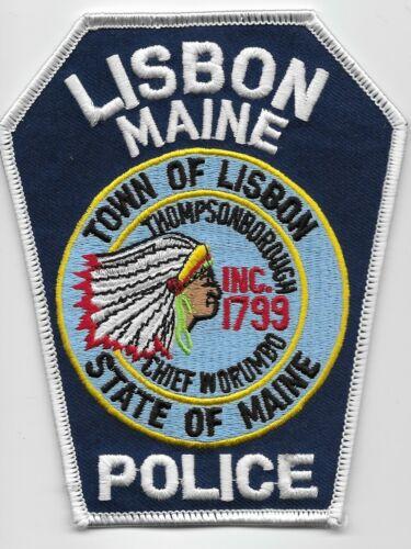 Lisbon Police State Maine Chief Worumbo ME