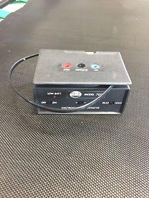 New Trek Electrometer W Probe Model 708 3610-01-232-4441 Electrostatic Voltmeter
