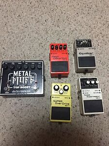 Various pedals (see add for details)