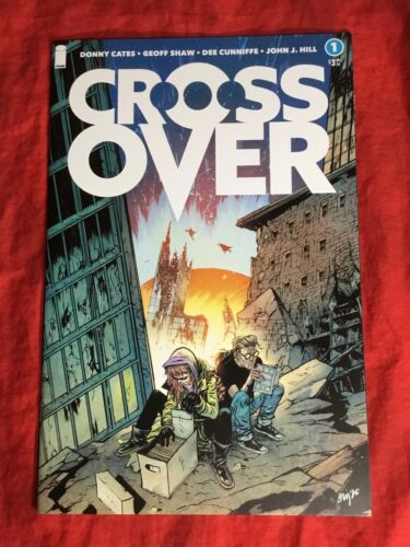 CROSSOVER #1~DANIEL WARREN JOHNSON 1:10 RATIO VARIANT~IMAGE COMICS DONNY CATES