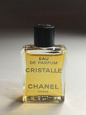 CHANEL CRISTALLE Eau de PARFUM VINTAGE NEW 4ml miniature EDP Collectible RARE