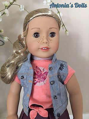 "American Girl Tenney Grant Doll & Book New NIB 18"" Tenny"