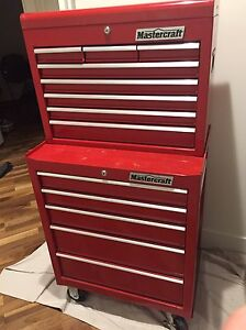 "Mastrcraft 26"" Tool Cabinet Combo - 5+9 Drawers"