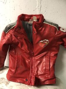 Lightning McQueen leather jacket - size 2T