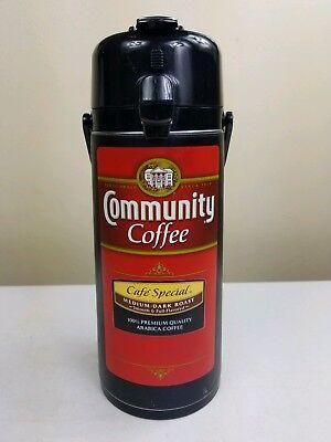 (1 Vintage Hot/Cold 70 0z Liquid & Community Coffee Beverage Dispenser Pump )
