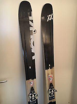 Völkl Nighty 90Eight Tourenski Freeride Ski mit Dynafit Radical Bindung + Felle
