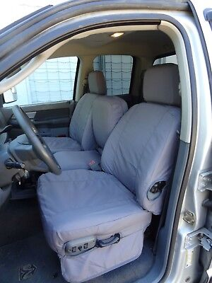 Durable Exact Fit Front Seat Covers for 2006-2009 Dodge Ram 2500-3500 40/20/40