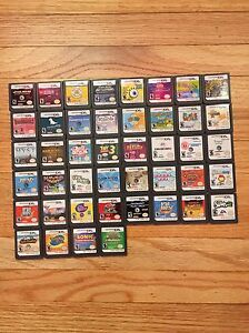 HUGE LOT OF DS GAMES WITH CASES!!!!!