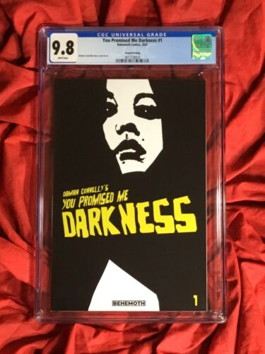 CGC 9.8~YOU PROMISED ME DARKNESS #1~2nd PRINT~DAMIAN CONNELLY~BEHEMOTH