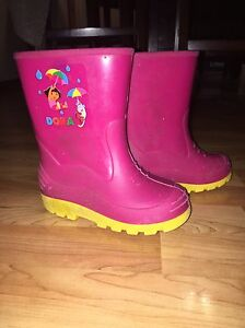 Girls and Boys rubber boots size 10