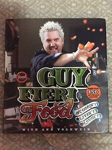 Guy Fieri Cook Book.. awesome illustrations!! Cambridge Kitchener Area image 1