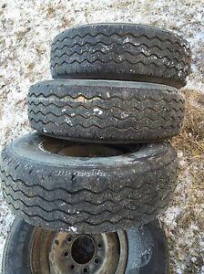 Tires 9.50R16.5LT GoodYear Workhorse Radial