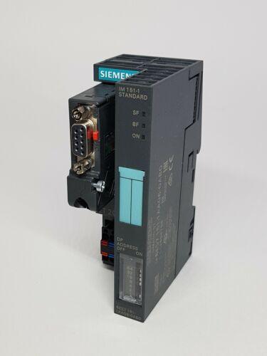 NEW! Siemens 6ES7151-1AA06-0AB0 Simatic DP Interface Module + PROFIBUS CONNECTOR