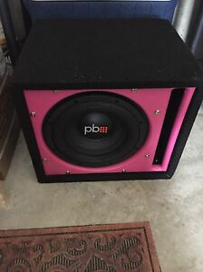 Subwoofer and Amp for Sale Kitchener / Waterloo Kitchener Area image 1