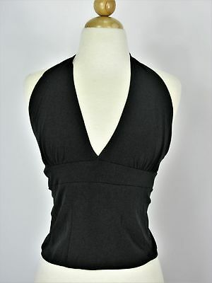 22 Wet Seal Tie Back Backless Halter Top M Nwt