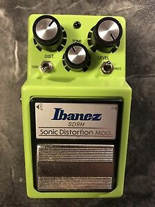 Ibanez Sonic Distortion Mod Pedal