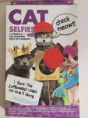 Опоры и сценическое Cat Props Selfies