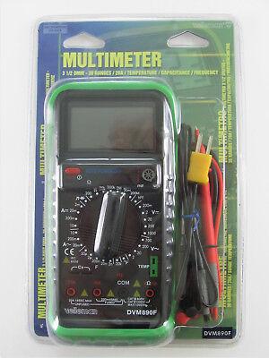 Velleman Digital Multimeter Dvm890f - 30 Ranges Temp Capacitance Frequency