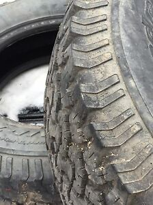 Bf Goodrich all-terrain ko 245/45r17 (with snow flake) West Island Greater Montréal image 1