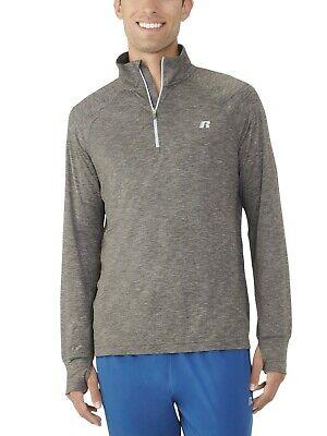 Russell Exclusive Big Men's Core Quarter Zip Pullover Size 2XL 50-52 50 Quarter Zip Pullover